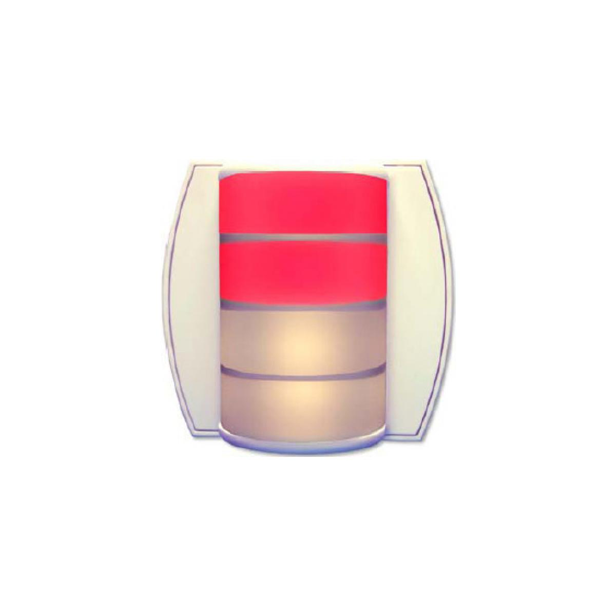 alpha communications acirc cent liled corridor lamp led white red