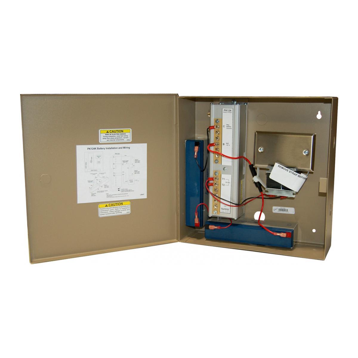 Alpha Communications Battery Back Up Kit Housing