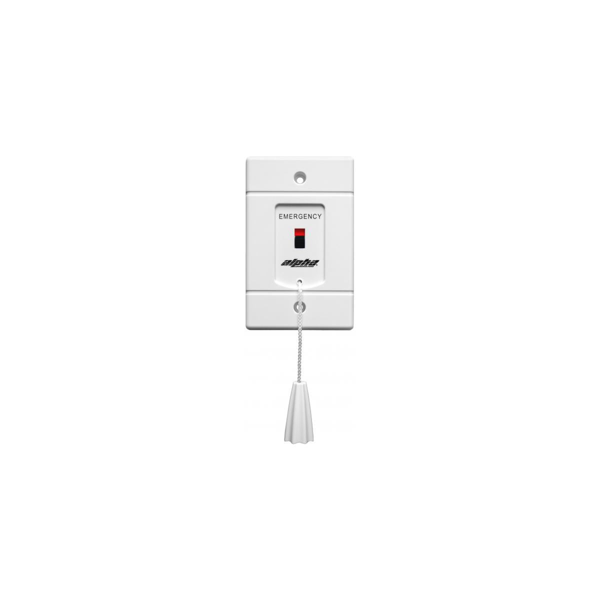 Alpha Communications Emergency Pull Cord Station With Sliding Red 24vdc Buzzer Wiring Diagram Indicator