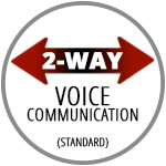 Standard 2-Way Voice Communications