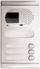 Alpha Communications 1131/AL 3 Pushbutton Video Panel-Alum. Requires El531 Color Camera And Sound Module Or El530 B&W Camera And Sound Module