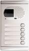 Alpha Communications 1150/AL 5 Pushbutton Video Panel-Alum. Requires El531 Color Camera And Sound Module Or El530 B&W Camera And Sound Module