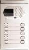 Alpha Communications 1210/AL 10 Pushbutton Video Panel-Alum Requires El531 Color Camera And Sound Module And 600/Al End Caps