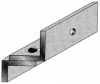 Alpha Communications 21031 Z' Bracket For 8011 Series Op Used For 'Inswinging' Single Doors (Nat. Aluminum Finish)