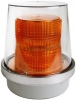 Alpha Communications 49R-N540WH 120vac Flashg Beac-W/Cov-Amber Can Be Used Indoors Or Outdoors