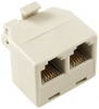 Alpha Communications 503 MODULAR DUPLEX ADAPTER--2 TO 1