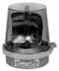 Alpha Communications 53R-E1 Rotating Beacon---Red----12vdc