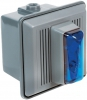 Alpha Communications 867-STRB-AQ 24vdc Strobe Unit-W/Horn--Blue Can Be Used Indoors Will Operate On 24vac Or 24vdc