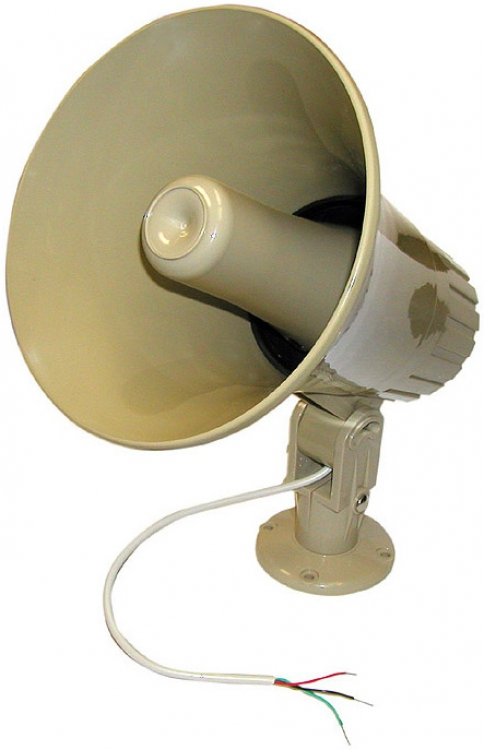 Alpha Communications HS-17T PAGING HORN-16W--25/70V--8 OHM