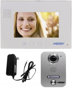 "Alpha Communications VK237WS 7"" Color Video Intercom Kit"