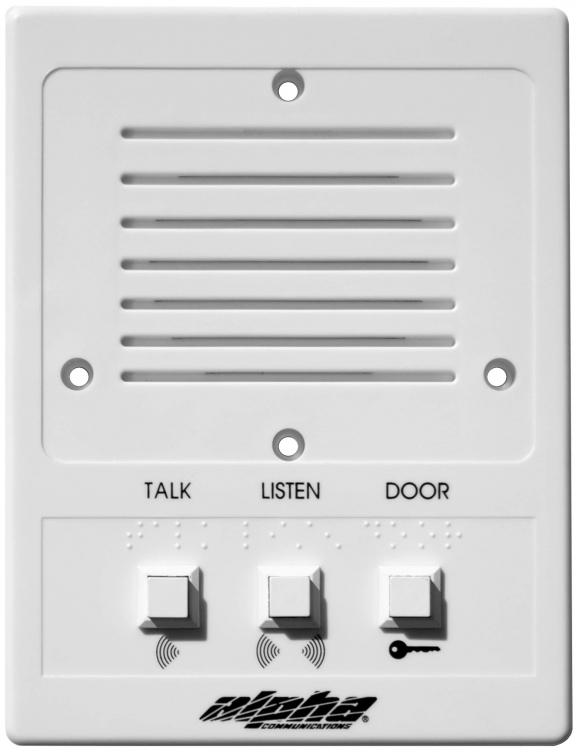 Alpha Communications U2122 Is543  U0026quot Universal U0026quot  Intercom Station