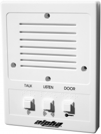 3-wire systems  versatile plastic intercom station for use with ia543,  pk543 or pk543a amplifiers