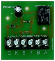250 alpha communications™ ia543 5 4 3 wire apartment intercom amplifier Basic Electrical Wiring Diagrams at gsmx.co