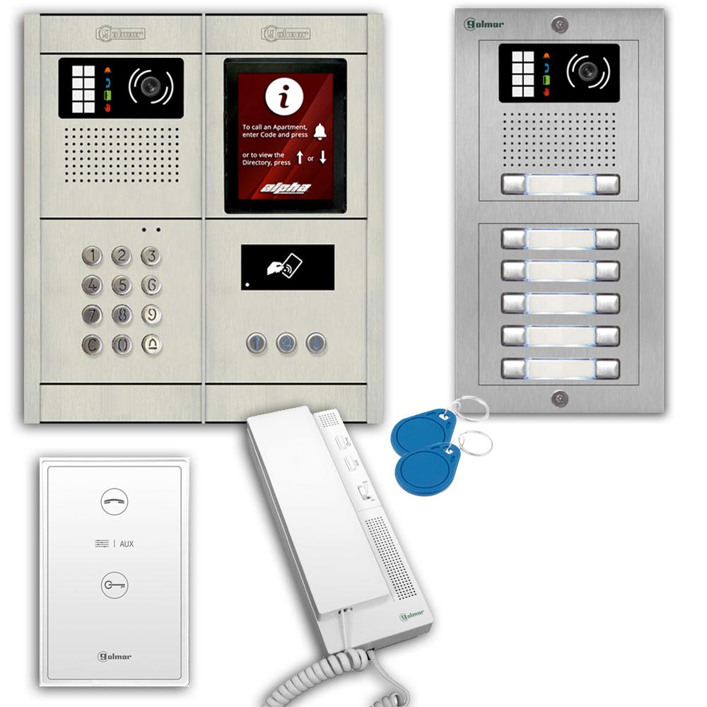Alpha Communications™ GB2 2-Wire Audio Intercom System