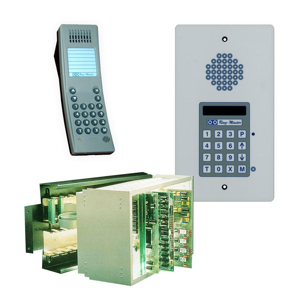 Alpha Communications Audio Only Intercom Simple Circuit For Home Communication Capacity Selective 15 Talk Paths