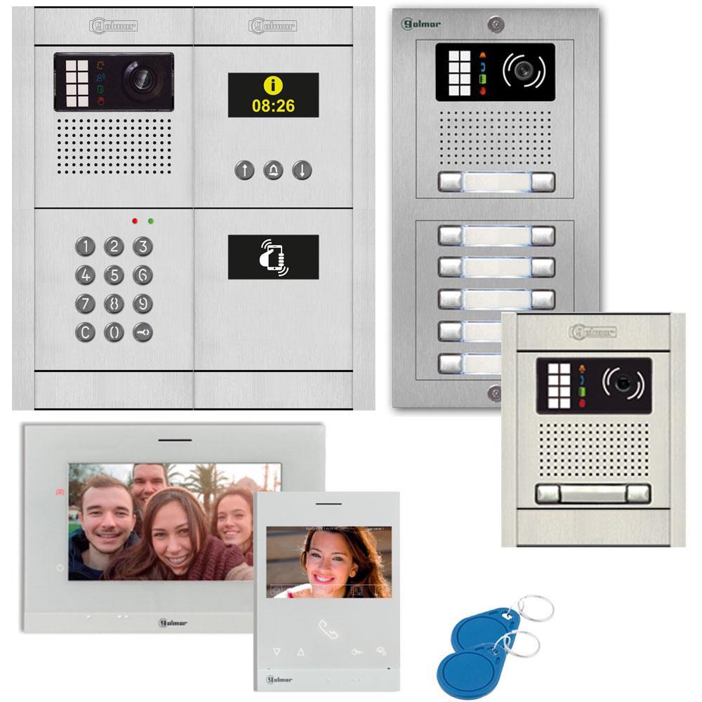 Aiphone JOS-1V Hands-Free Color Video Intercom System JOS-1V B&H