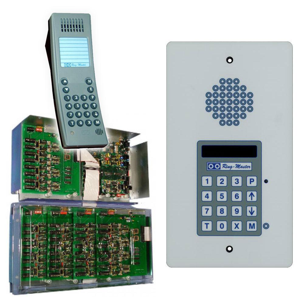 Alpha Communications Audio Only Intercom Simple Circuit For Home Communication Rm5000ex 56 Station Capacity Selective 3 Talk Paths